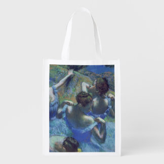 Blue Dancers, c.1899 (pastel) Reusable Grocery Bags
