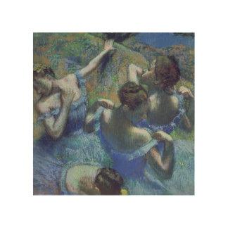 Blue Dancers, c.1899 (pastel) Wood Print