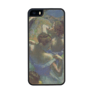 Blue Dancers, c.1899 Wood Phone Case For iPhone SE/5/5s
