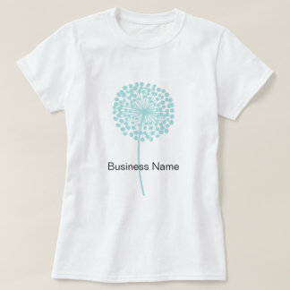 Blue Dandelion Customizable Tee
