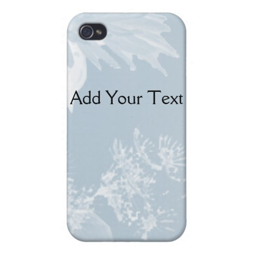 Blue Dandelion iPhone 4/4S Covers