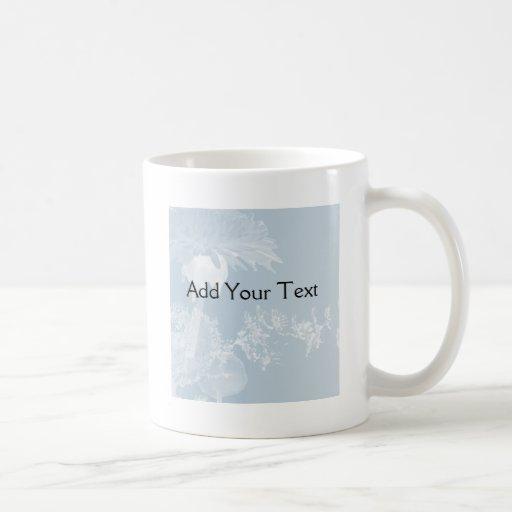Blue Dandelion Mugs
