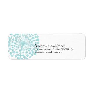 Blue Dandelion Return Address Labels (TBA)