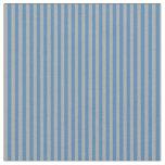 [ Thumbnail: Blue & Dark Gray Colored Pattern Fabric ]