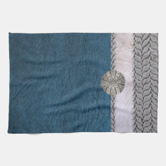 Blue Darling kitchen screen Kitchen Towel