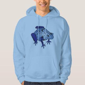Blue Dart Frog Hoodie