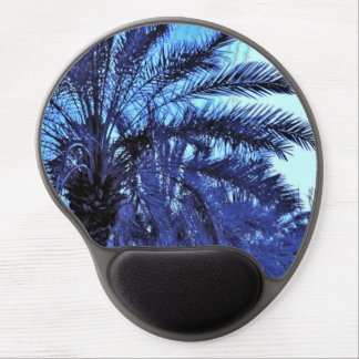 Blue Date Trees Gel Mouse Pad