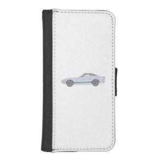 Blue Datsun 240Z Pencil Style Drawing iPhone SE/5/5s Wallet Case