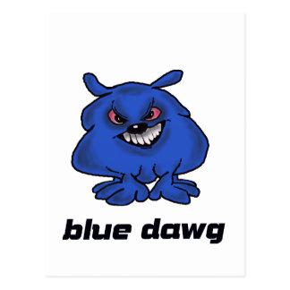 Blue Dawg Postcard