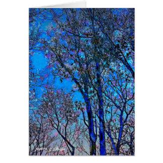 """""""Blue Dawn"""" Card"""