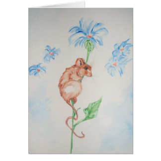Blue Day Greeting Card