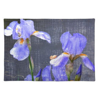 Blue Day Irises Placemat