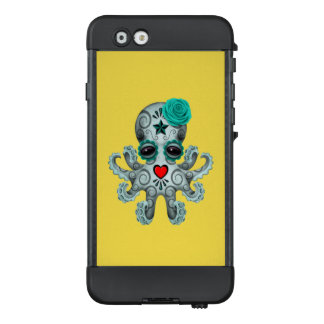Blue Day of the Dead Baby Octopus LifeProof NÜÜD iPhone 6 Case