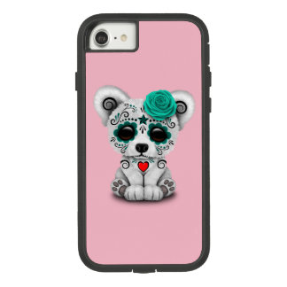 Blue Day of the Dead Baby Puppy Dog Case-Mate Tough Extreme iPhone 8/7 Case