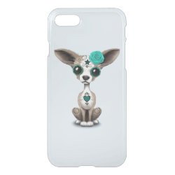 Uncommon iPhone 7 Clearly™ Deflector Case with Chihuahua Phone Cases design