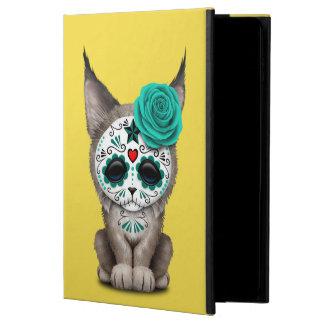 Blue Day of the Dead Sugar Skull Lynx Cub Powis iPad Air 2 Case