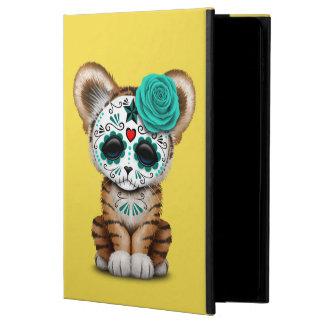 Blue Day of the Dead Sugar Skull Tiger Cub Powis iPad Air 2 Case