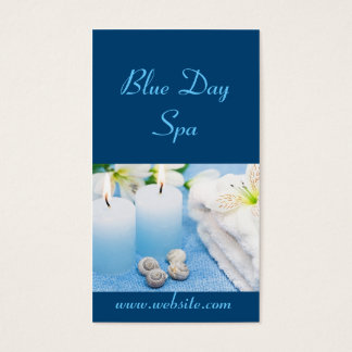 Blue Day Spa Business Card