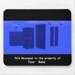 Blue Day Surreal Mousepad Mouse Pad