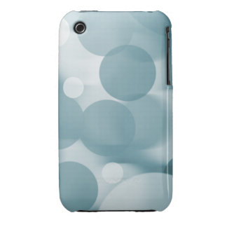 Blue Daydream Bokeh iPhone 3 Covers