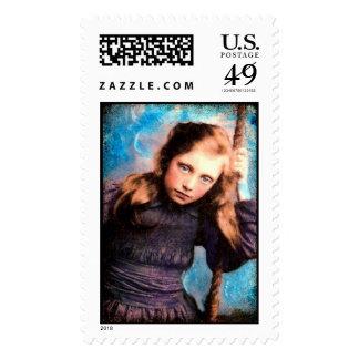 blue dayz postage stamp