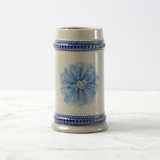 Blue Decoration Mug