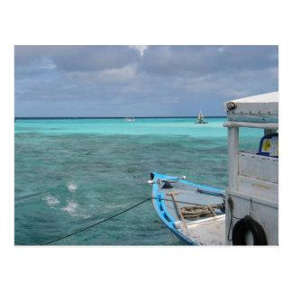 Blue Deep Postcard