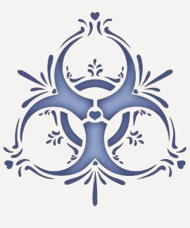 Blue Delft Biohazard T-shirt