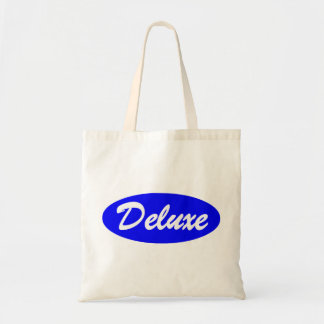 Blue Deluxe Tote Bag