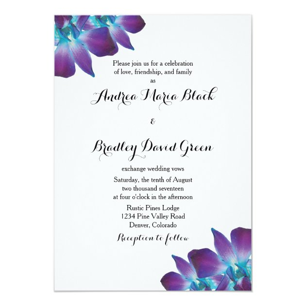 Orchid Wedding Invitations guitarreviewsco