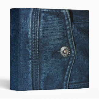Blue Denim Binder