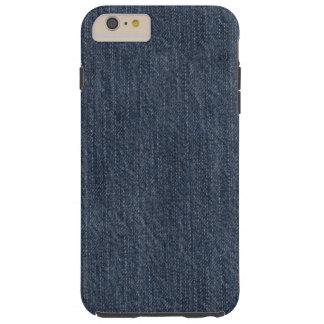 Blue Denim Tough iPhone 6 Plus Case