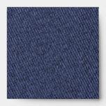 Blue Denim Envelopes