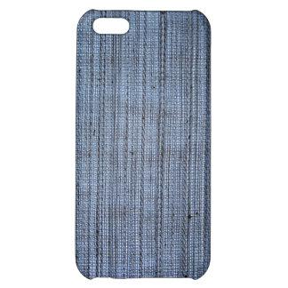 Blue Denim Fabric Style iPhone Case