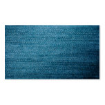 Blue Denim Jeans Texture For Background Double-Sided Standard Business Cards (Pack Of 100)