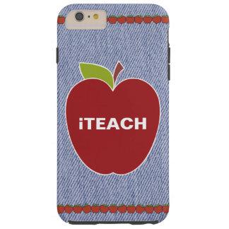 Blue Denim Look Teacher's iPhone 6 Plus Case