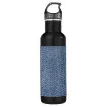 Blue Denim Looking Water Bottle
