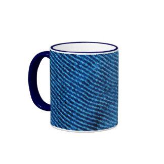 BLUE DENIM Textured Mug