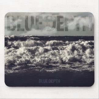 Blue depth mouse pad