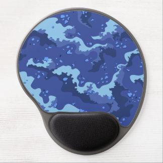 Blue Desert Camo Gel Computer Mousepad Gel Mouse Pad