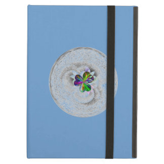 Blue design cover for iPad air