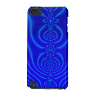Blue Design Fractal iPod Touch 5G Cover