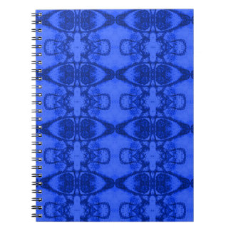 Blue Design Notebook