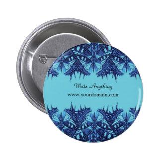 blue designed background button