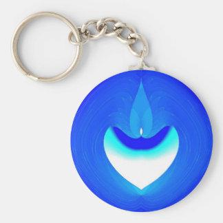 Blue Desire Keychain