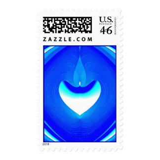 Blue Desire Postage