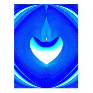 Blue Desire Postcard
