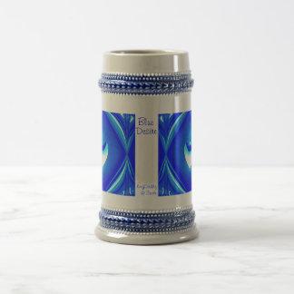 Blue Desire Stein Coffee Mugs
