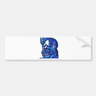 Blue Devi Bumper Sticker