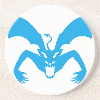 Blue Devil Drink Coaster